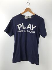 PLAY LOGO T-SHIRT/M/コットン/NVY/プリント/AZ-T176/AD2013