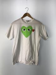 Tシャツ/L/コットン/WHT/AZ-T106/裾シミ有
