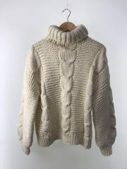 セーター(厚手)/FREE/アクリル/CRM/WCJ-JF-004/WCJ/19AW