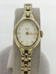 クォーツ腕時計/アナログ/WHT/GLD/1509/ANA機内限定モデル/付属・コマ無