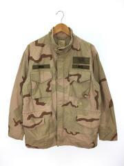 ミリタリージャケット/L/コットン/BEG/M-65フィールドジャケット/TSDT-JK-BFM10