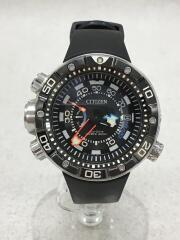 クォーツ腕時計/PROMASTER/プロマスター/J250-S092183/アナログ/ラバー/BLK/BLK