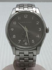 クォーツ腕時計/アナログ/ステンレス/SLV/SLV/H384110/ジャズマスター/キズ有