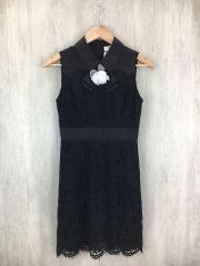 A-Line Dress/ノースリーブワンピース/O/ポリエステル/BLK/NJMU6954