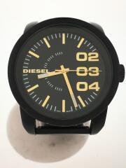 クォーツ腕時計/アナログ/BLK/DZ1566