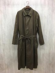 16AW/コットントレンチコート/3/KHK/無地/HR-C04-001
