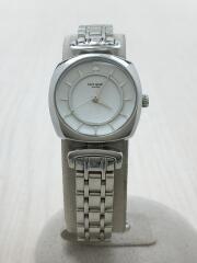 腕時計/アナログ/WHT/SLV/KSW1319