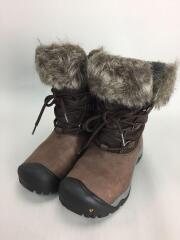 ブーツ/24cm/ブラウン/スウェード/52026-JVBH