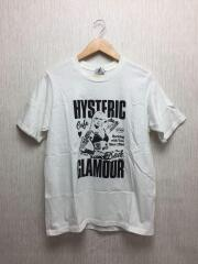 Tシャツ/M/コットン/WHT/BAD GIRL CONNEXXXION Tシャツ