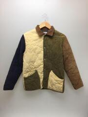 キルティングジャケット/M/コットン/マルチカラー