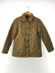 キルティングジャケット/M/ポリエステル/キャメル/CML/8604-48400