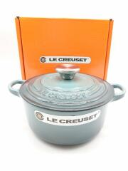 LE CREUSET/ル クルーゼ/ココット・ロンド/鍋/サイズ:18cm/GRY