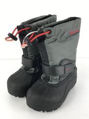 キッズ靴/15cm/ブーツ/ナイロン/GRY/BC1324-010