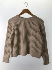 セーター(厚手)/--/コットン/BEG/19-080-400-3010-1-0