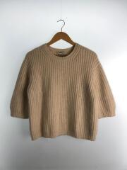 セーター(厚手)/S/アンゴラ/BEG