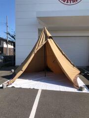 サーカスTC サンド テント/ワンポール/2人用/BEG