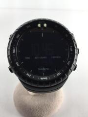 クォーツ腕時計/デジタル/CORE ALL BLACK/箱付