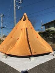 NE-156/ワンポールテント300 テント/ワンポール/2~3人用/YLW