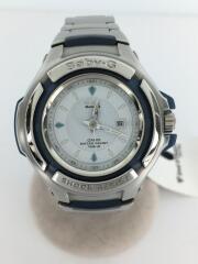 BABY G/クォーツ腕時計/アナログ/ステンレス/SLV/SLV/MSG-551