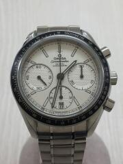自動巻腕時計/アナログ/ステンレス/WHT/SLV/SPEEDMASTER/87540719
