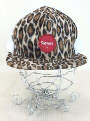 Leopard mesh Back 5-Panel Cap/メッシュキャップ/コットン/WHT/20ss