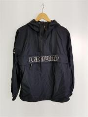UNDEFEATED CHAMPION ANORAK JACKET/M/ナイロン/BLK/C8-Q640