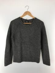 セーター(厚手)/M/ウール/GRY/アルパカ混/23241-80792