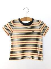 Tシャツ/100cm/コットン/マルチカラー/ボーダー