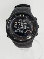 CORE/クォーツ腕時計/デジタル/--/BLK/BLK