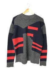 セーター(厚手)/S/アクリル/グレー