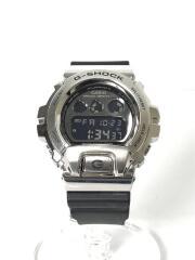 クォーツ腕時計/デジタル/ラバー/グレー/GM-6900G-9JF