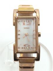 1N01-0JZ0 クォーツ腕時計/アナログ/WHT ワイアード