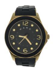 マーク・ジェイコブス ペリー MBM2540 クォーツ腕時計/アナログ/ラバー/ゴールド