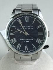 MACKINTOSH PHILOSOPHY/クォーツ腕時計/アナログ/NVY/SLV/VJ21-KTB0