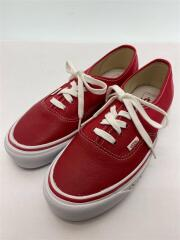 ローカットスニーカー/26.5cm/RED/721278/VANS/BMX/AUTHENTIC