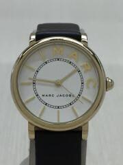 クォーツ腕時計/アナログ/--/WHT/BLK/MJ1532/レザー/Roxy Classic