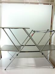 611784 テーブル/SLV/611784/ッチンスタンドⅡ/サイズ(幅115cm-奥行38cm-高さ80cm)