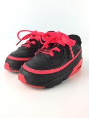 ナイキ/キッズ靴/12cm/スニーカー/レザー/ブラック/CQ4615-003/中古