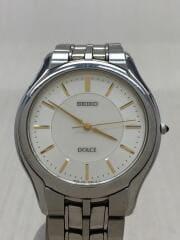 DOLCE/エクセリーヌ/8J41-6030/クォーツ腕時計/アナログ/ステンレス/SLV/SLV/シンプル