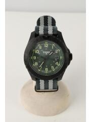 H3/ODP Evolution/トレーサー/クォーツ腕時計/アナログ/ナイロン/グリーン/109039