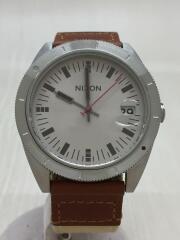 クウォーツ腕時計/アナログ/--/SLV/ストリート/10気圧防水/アウトドア