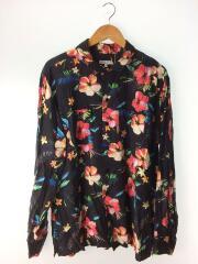 20ss/Classic Shirt -Tropical Floral Print/長袖シャツ/L/レーヨン/
