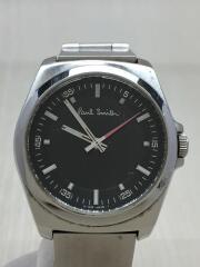 6038-h24741/クォーツ腕時計/アナログ/ステンレス/GRY/三つ折れ/カジュアル