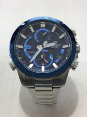 ソーラー腕時計・EDIFICE/アナログ/ステンレス/BLU/SLV/EDIFICE/スマートフォンリンク//クロノグラフ EQB-900DB-2AJF