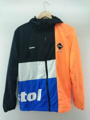 19SS/COLOR BLOCK SEPARATE PRACTICE JACKET/L/ナイロン/BLK/ナイロンジャケット