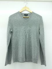 セーター(薄手)/XS/カシミア/GRY/02-8301716-020-900/カジュアル/エレガンス