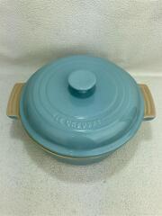 鍋/サイズ:18cm/BLU/ルクルーゼ/ココット