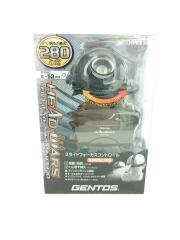 HW-V333D ジェントス/キャンプ用品その他/BLK/HW-V333D/ヘッドライト