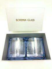 ボヘミヤ/グラス/2点セット/CLR