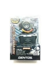 HW-V333D ジェントス/キャンプ用品その他/BLK/HW-V333D/LEDヘッドライト/280ルーメン